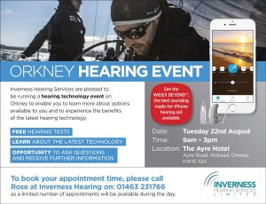 Orkney Hearing Event