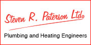 Steven R. Paterson Ltd. Plumbing and Heating Engineers Advert