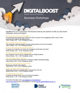 Business Gateway – Digital Boost