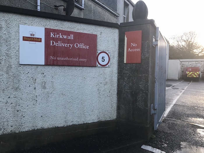 kirkwalls royal mail delivery office will be open on christmas eve for the collection of parcels and packages - Does Mail Get Delivered On Christmas Eve