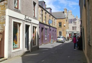 Flagstone repairs forces Stromness street closures