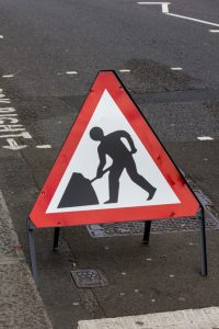 Roadworks in Kirkwall
