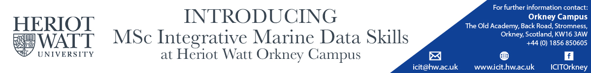 ICIT - Introducing MSc Integrative Marine Data Skills