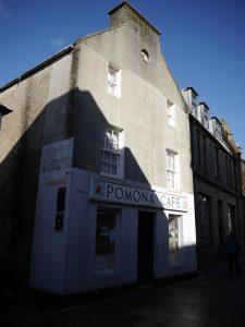 Pomona Cafe and B & B, 9 Albert Street, Kirkwall