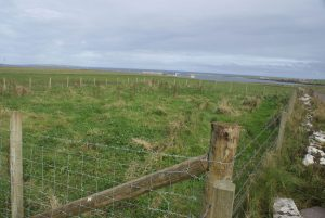 Building site at Teing, Westray
