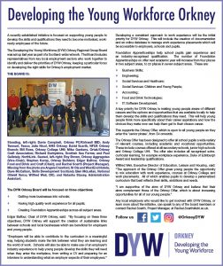 Developing the Young Workforce Orkney