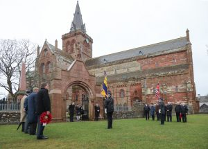 Ceremony remembers Orcadian First World War casualties