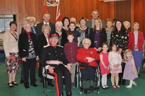 Rita Jamieson receives British Empire Medal