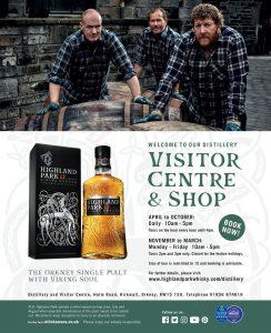 Highland Park Visitor Centre & Shop
