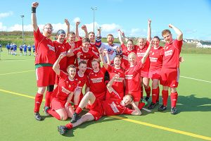 Mixed hockey side savour sweet taste of success