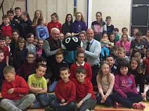 Children's charity tours Orkney schools