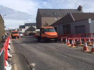Council responds to Kirkwall business concerns over roadworks