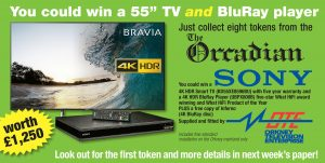 Competition: Win a Sony 4K HDR Smart TV