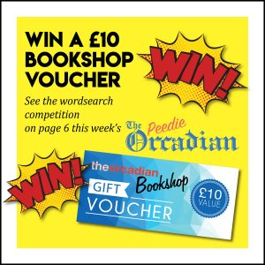 WIN a voucher for The Orcadian Bookshop
