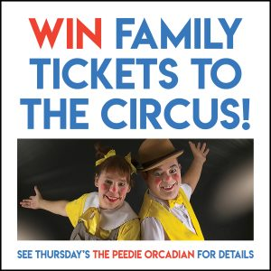 WIN one of eight sets of family tickets to the circus!