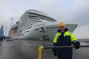 Largest cruise ship to visit arrives in Orkney