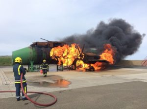 Fire service unveils new £1.2m training facility at Kirkwall Airport