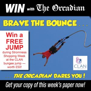 Brave the bounce… The Orcadian dares you!