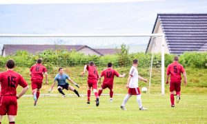 Peace proves pivotal during weekend of Parish Cup football