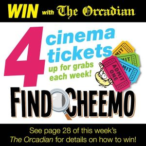 Find Cheemo in tomorrow's paper to win cinema tickets