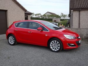 2013 Vauxhall Astra Elite, 5 Door
