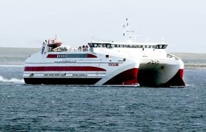Pentland Ferries cancel services on Tuesday