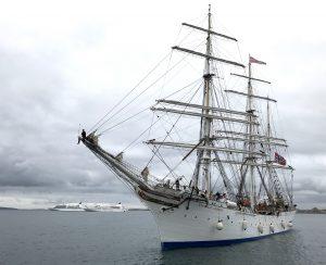 Norwegian tall ship arrives in Kirkwall