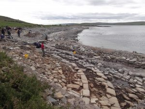 Archaeologists return to the Knowe of Swandro