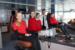 Stromness pupils are new voice of MV Hamnavoe