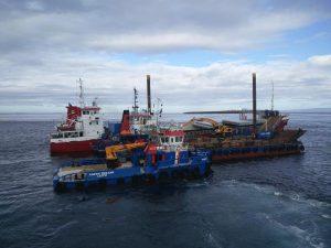 MV Priscilla: 're-float plans progressing well'