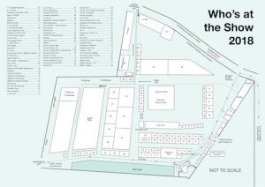 County Show —2018 Park Map