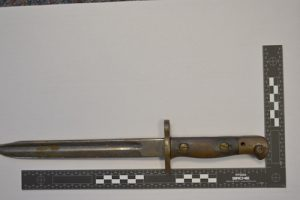 Police appeal after bayonet recovered in Kirkwall