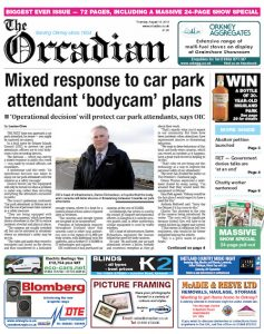In this week's bumper edition of The Orcadian