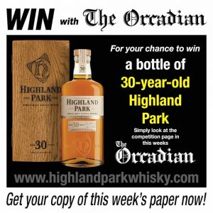 Win with The Orcadian