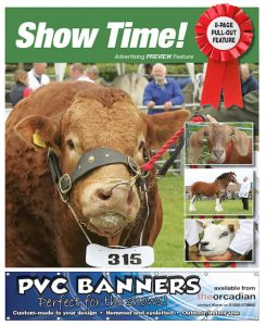 Inside this week's edition —  the agricultural shows preview