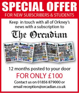 The Orcadian – Subscription Offer