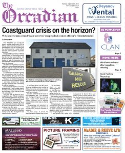 In this week's purple edition of The Orcadian