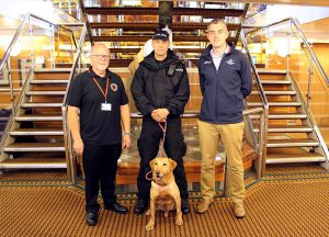 Drugs dog receives glimpse into life in the county