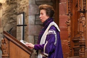 Princess Royal presides over college graduation