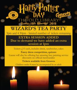 The Old Library – Harry Potter Day