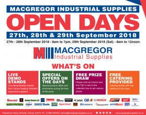 MacGregor Industrial Supplies Open Days