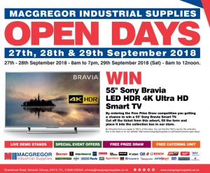MacGregors Industrial Supplies Open Days