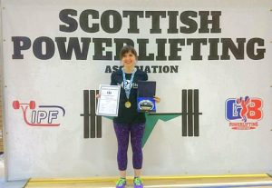 Kirkwall powerlifter selected for Scotland once more