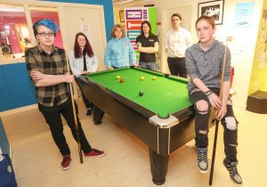 Pudsey to the rescue — Youth Café secures funding for three years