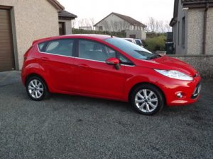 2011 FORD FIESTA ZETEC TDCi, 5 door