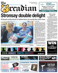 In this week's edition of The Orcadian