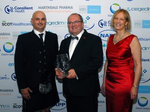 Lifetime achievement award for pharmacy director