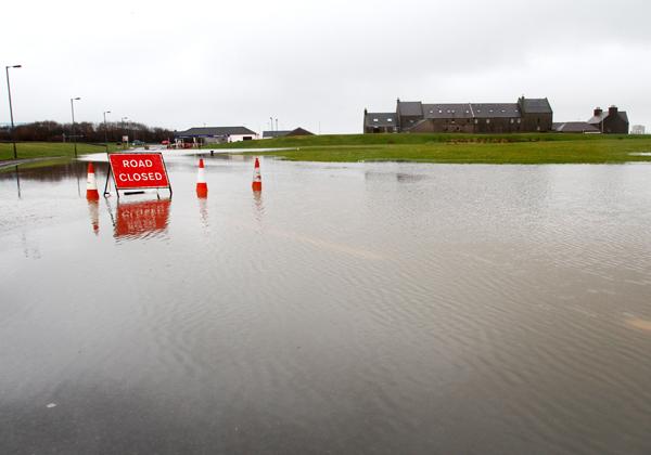 Test for flood defences planned