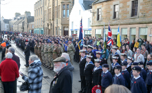 Orkney pays tribute on Remembrance Sunday