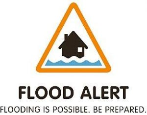 Flood alert issued